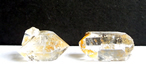 Two Herkimer Diamond Golden Healer Crystals