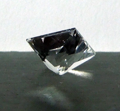 Back view of diamond.