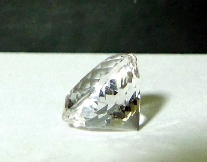 A beautiful machine faceted Herkimer Diamond