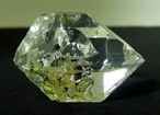 Quality double terminated Herkimer Diamond.