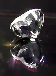 Heart cut gemstone.