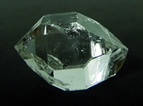 Photographs of atypical Herkimer Diamond enhydro.