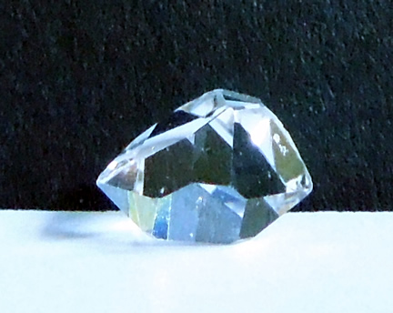 Photo of a Herkimer Diamond crystal.