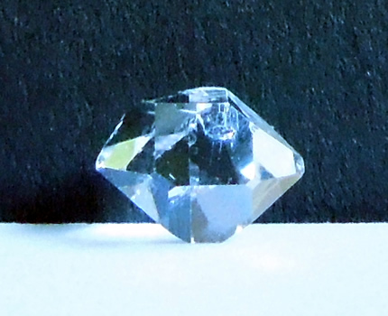 Herkimer Diamond with a brilliant shine.