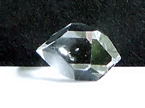 Photographs of an unusual AA grade Herkimer Diamond.