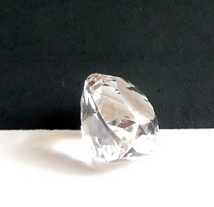 AA grade faceted Herkimer Diamond